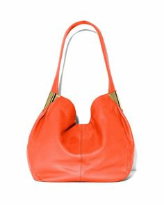 Maple and West Vince Camuto Grace Hobo Bag - Fiery Coral