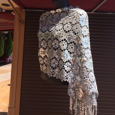 Evening shall Shiny evening fashion shall Accessories Scarves & Wraps