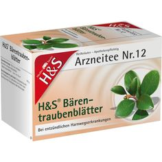 H&S Bärentraubentee Filterbeutel:   Packungsinhalt: 20 St Filterbeutel PZN: 02286029 Hersteller: H&S Tee - Gesellschaft mbH & Co. Preis:…