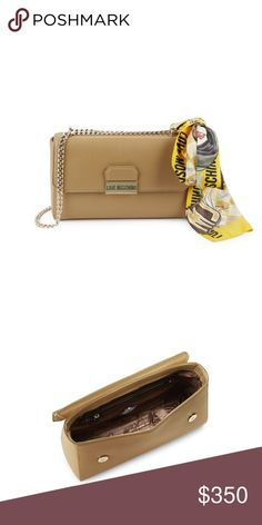 Moschino bag Tan Moschino Bags Crossbody Bags
