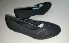 Comfort well by beacon black dress shoes heels 8 M Elsa #comfortwellbybeacon #PumpsClassics