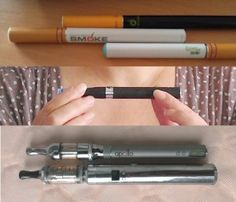 E-cig Types in short - cigalikes, eGo-T, eGo VV and LRider Lambo with their clearomizers