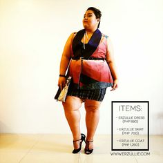 """Erzullie Fierce Plus Size Fashion Philippines: PLUS SIZE FASHION: #OOTD """"PUSH"""" Philippines, Ootd, Plus Size Girls, Buy Dress, Plus Size Fashion, That Look, Skirts, Outfits, Dresses"""