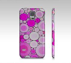 Retro Pink Polka-dot Samsung Galaxy5 Case