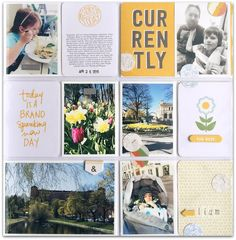 love how she used the ali edwards stamp for a journalling card