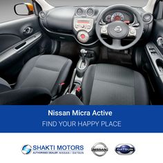 Find Your Happy Place with #ShaktiNissan : https://goo.gl/ajo4Sl #Active #SunnyCars #BookMicra #Datsun #DatsunCar #Nissan #MyCar #FirstCar