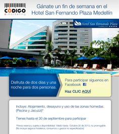 Gánate un fin de semana en el Hotel San Fernando Plaza