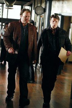 Adam Baldwin on Castle. Fan-friggin-tastic! The Firefly references were awesome!!
