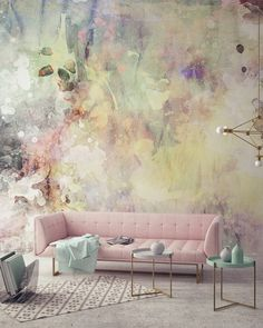Bild 1 Home / Decoration Bild 1 Home / Decoration The post Bild 1 Home / Decoration appeared first on Tapeten ideen. Decor Room, Diy Wall Decor, Living Room Decor, Bedroom Decor, Home Decor, Bedroom Green, Wall Decorations, Pastel Living Room, Green Wall Decor