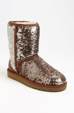 To UGG or not to UGG - that is the question   {UGG® Australia 'Classic Short Sparkle' Boot (Women) }