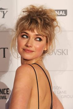 Imogen Poots as Tiffany Shallon - First Position (Book #1 of the Body Double series)