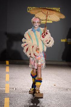 Central Saint Martins BA fashion show