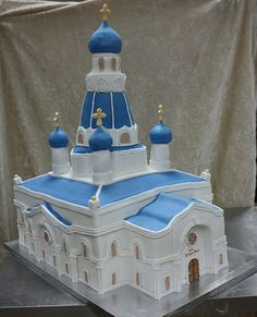 chirch cake 2 by The House of Cakes Dubai, via Flickr