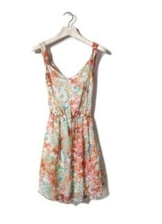 Kup mój przedmiot na #vintedpl http://www.vinted.pl/damska-odziez/krotkie-sukienki/5762013-sukienka-floral-marki-pullbear-rozmiar-ms