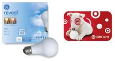 Giveaways: Target Gift Card + GE Lighting Giveaway