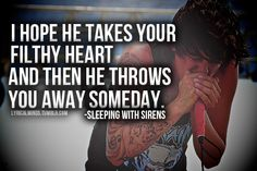if you can't hang. sleeping with sirens. ♥