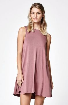 LA Hearts Knit Swing Dress
