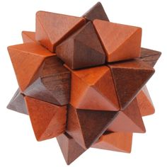 [$1.85] Intelligence Wooden Pull-Apart IQ Puzzle Magic Cube Toy