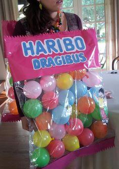 Costume bonbon haribo fait-main