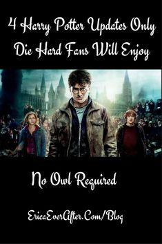 Harry Potter News for fans only erica ever after