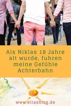 Autismus und der 18. Geburtstag - als Niklas 18 Jahre alt wurde, fuhren meine Gefühle Achterbahn www.ellasblog.de
