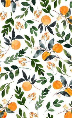 Orange Grove Window Curtains by greenhouseprints Aesthetic Backgrounds, Aesthetic Iphone Wallpaper, Aesthetic Wallpapers, Cute Wallpaper Backgrounds, Pretty Wallpapers, Iphone Background Wallpaper, Screen Wallpaper, Image Deco, Cute Patterns Wallpaper