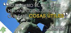 ¡Gran #frase para ir comenzando el finde! www.acesperanza #felizviernes #felizfinde #sabio #malaga #madrid