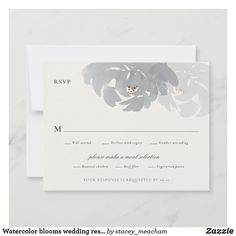 Response Cards, No Response, Beef Filet, Belly Bands, Wedding Rsvp, Thank You Notes, Gift Tags, Bloom, Romantic