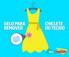 Gelo para remover chiclete — Supermercados Guanabara
