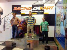 Pablo, Manuel y Bruno, ganadores del Campeonato de Veteranos del Racing Dakart, que se celebró el domingo 20 de octubre en Marineda City. ¡Gracias por una jornada llena de emoción!