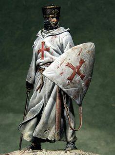 Crusader Knight, by Diego Ruina