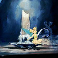 """Mischievous"" by Jim Salvati | Disney Fine Art | Disney's Peter Pan"
