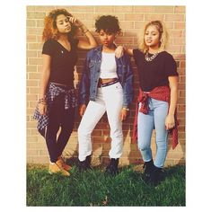 Cierra, Monica & Daija  //  Woodbridge VA instagram- cierraally  //  90seyecandy.tumblr.com