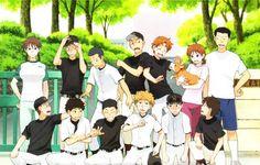 Tags: Anime, Dog, Ookiku Furikabutte, Ren Mihashi, Abe Takaya, Azusa Hanai