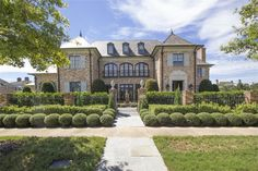This Texas home has incredible curb appeal!