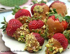 caramel strawberries 1