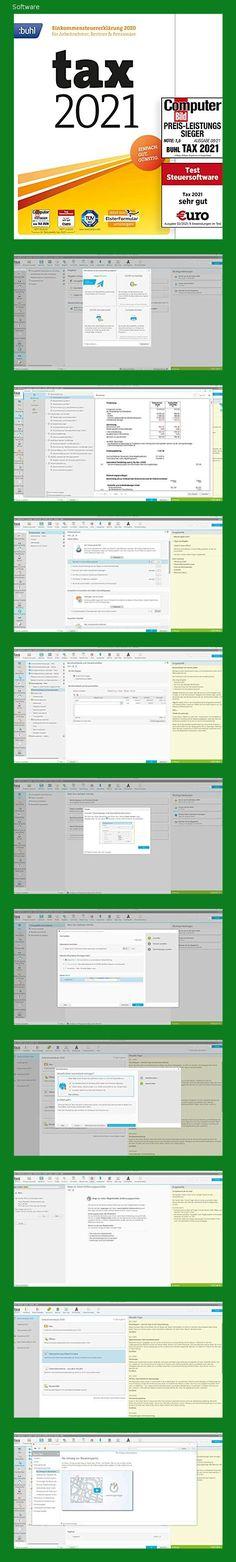 Tax 2021 (für Steuerjahr 2020 | frustfreie Verpackung) - 151a Microsoft Windows 10, Software, Mac Os, Computer, Packaging