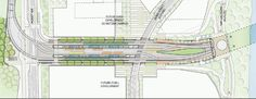 South Waterfront & SW Moody Ave Station Plan - Portland-Milwaukie Light Rail (Orange line)