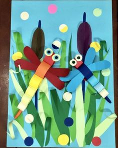Insects Inspired Spring Craft Idea The Effective Pictures We Offer You About Spring Crafts For Kids easter A quality picture can tell you many things. Kids Crafts, Spring Crafts For Kids, Summer Crafts, Art For Kids, Arts And Crafts, Paper Crafts, Cool Diy Projects, Projects For Kids, Art Projects