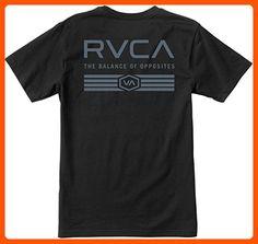 RVCA Men's Hat Patch Pocket Tee, Black, Medium - Mens world (*Amazon Partner-Link)