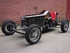 "1930's Dirt Track ""Big Car"" (Now called a Sprint Car)"
