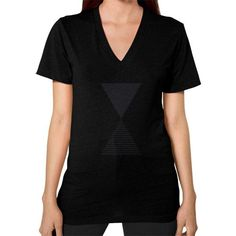 Time V-Neck (on woman) Shirt