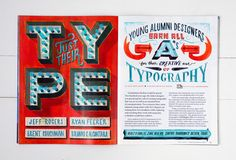 Jeff Rogers (holy crap this is amazing #lettering and #illustration)