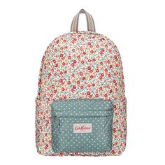 Garden Ditsy Quilted Backpack