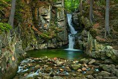 Bardzo duże wodospady w Stryszawie