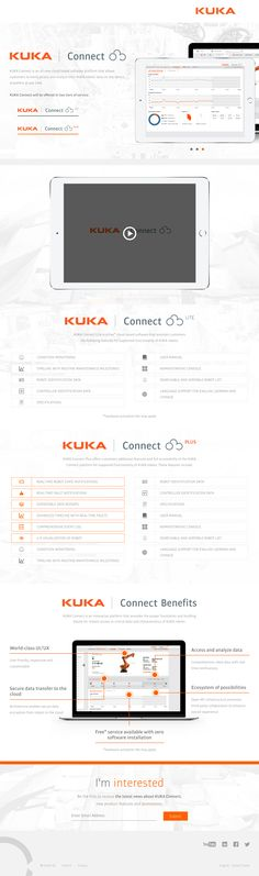 Lion's Share worked with KUKA to come up with a unique landing page to sell their innovative software platform. Our concept was #modern with the focus being on informing the customer. Once the #design was approved, we developed the site in a way that allows KUKA to keep the page's content updated simply and easily. #Minimal #WebDesign