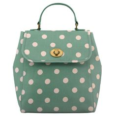 Button Spot Turnlock Backpack | View All | CathKidston