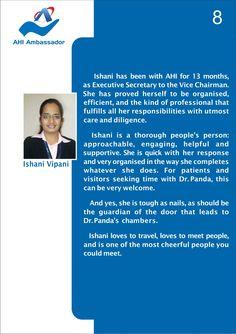 Ishani Vipani, Executive Secretary to Vice Chaiman