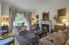 Photos of Park Village West, London - 42545477 Detached House, Oversized Mirror, Curtains, Park, Bedroom, West London, Architecture, Furniture, Home Decor