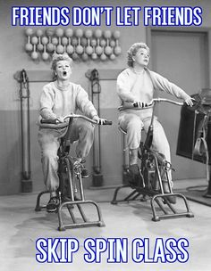 indoor cycling, spinning, I Love Lucy, Lucille O'Ball. bicycle.